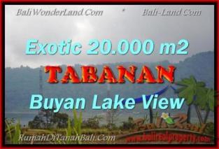 TANAH di TABANAN BALI DIJUAL MURAH 20,000 m2 View gunung dan danau buyan