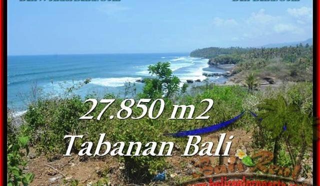 TANAH JUAL MURAH TABANAN 278.5 Are Los Pantai, View Gunung