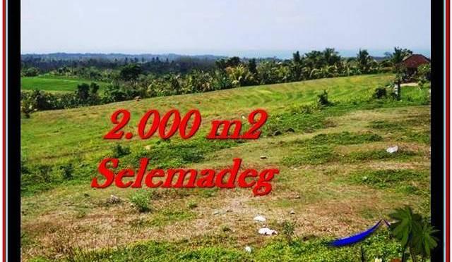 JUAL TANAH MURAH di TABANAN 2,000 m2 View sawah, laut, Kota Denpasar