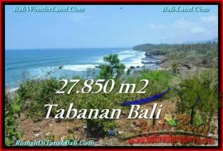 TANAH MURAH DIJUAL di TABANAN BALI 278.5 Are di Tabanan Selemadeg