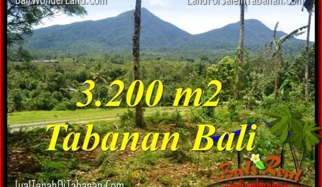 JUAL MURAH TANAH di TABANAN BALI 3,200 m2 di Tabanan Penebel