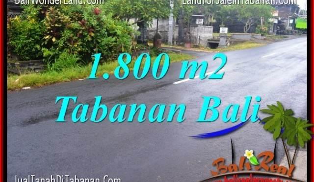 INVESTASI PROPERTI, DIJUAL MURAH TANAH di TABANAN BALI TJTB321
