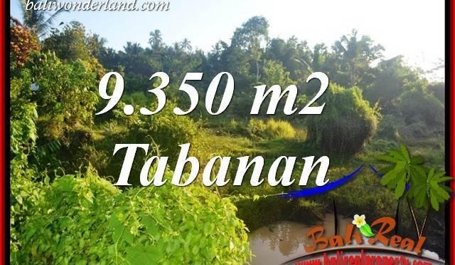 Dijual Murah Tanah di Tabanan 93.5 Are di Tabanan Selemadeg