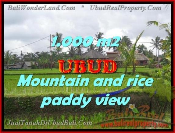 Jual Tanah murah di UBUD TJUB424 - investasi property di Bali