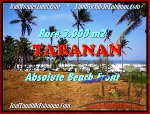 TANAH di TABANAN BALI DIJUAL MURAH 30 Are View gunung laut dan sawah