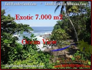 JUAL TANAH di TABANAN BALI 70 Are View Laut dan Kebun