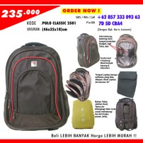 POLO CLASSIC 2581, Grosir Tas Sekolah Online, 0857-333-093-63 (Indosat)