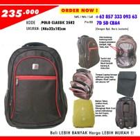 POLO CLASSIC 2582, Grosir Tas Sekolah Model Terbaru, 0857-333-093-63 (Indosat)