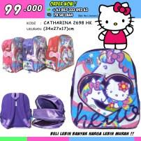 CATHARINA 2698 HK, Grosir Tas Sekolah Hello Kitty, Grosir Tas Sekolah Hello Kitty Untuk Smp