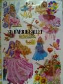 3D Barbie Ballet Wallsticker ecer, grosir untuk dekor kamar, ruang tamu, kamar bayi. 085776500991-bu Eva