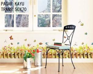 Pagar Kayu Wallsticker ecer, grosir untuk dekor kamar, ruang tamu, kamar bayi. 085776500991-bu Eva