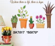 SK7017 Wallsticker ecer, grosir untuk dekor kamar, ruang tamu, kamar bayi. 085776500991-bu Eva