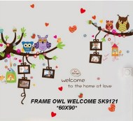 sk9121-frame-owl-welcome