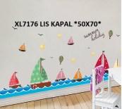 xl7176 lis kapal wallsticker Wallsticker Murah, ecer dan grosir untuk kamar, ruang tamu, dapur, kamar bayi.Bu Eva 0857.7650.0991