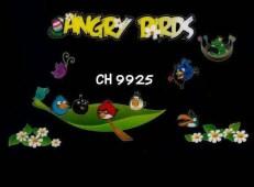 Glow Angry Bird ch9925 Wallsticker kamar anak, grosir untuk dekor kamar, ruang tamu, kamar bayi. 085776500991-bu Eva