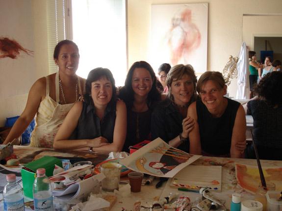 The Spanish speaking girls