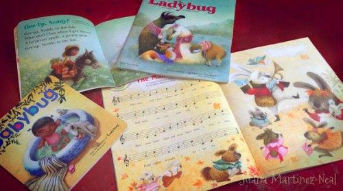 Babybug and Ladybug spreads and covers