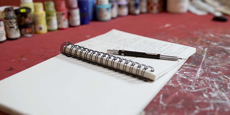 Juana Martinez-Neal Notebook