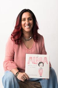 Photo of author-illustrator Juana Martinez-Neal