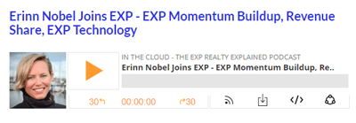 Erinn Nobel Joins EXP – EXP Momentum Buildup, Revenue Share, EXP Technology