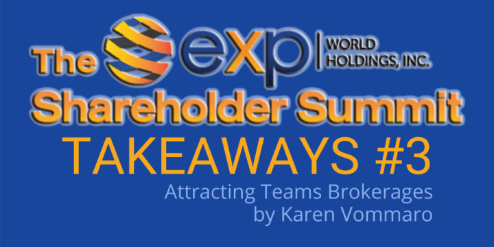 Shareholder Summit TAKEAWAY #3