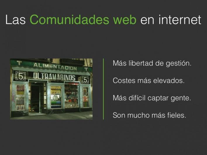 Las comunidades web siempre han estado ahí, como esa tienda de barrio que nos ha salvado la vida más de una vez.