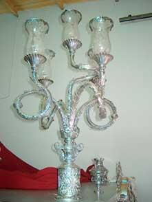 Candelabro tronco 5 luces Image