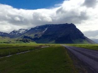 Cumbres nevadas del Eyjafjallajökull