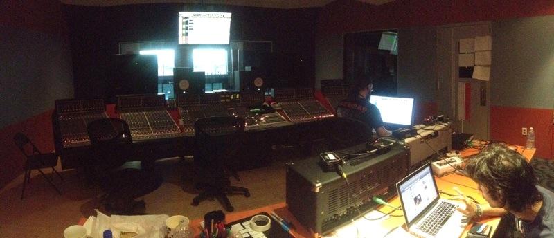 Vegas - control room