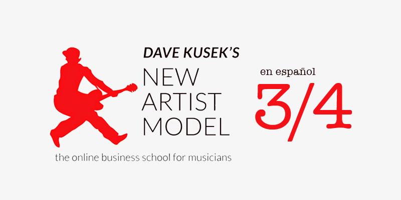 New Artist Model en español 3 portada