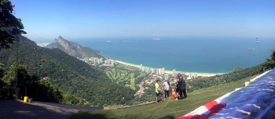 Juan Carrizo - Rio - Vista desde el Cerro Conrao