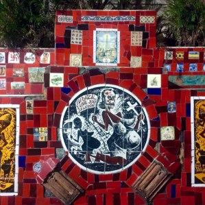 Juan Carrizo - Rio - El autoretrato de Selaron en su escalera