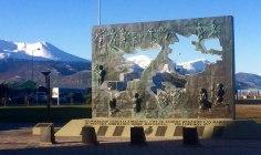 Fin del mundo - Monumento a los caidos en Malvinas