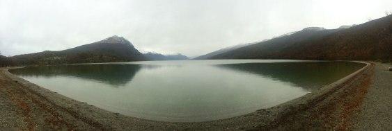 Ushuaia - Bahia de Lapataia - Panoramica lago Roca