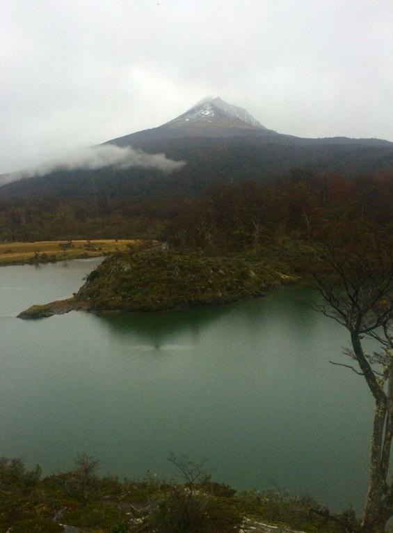 Ushuaia - Bahia de Lapataia - Lago verde