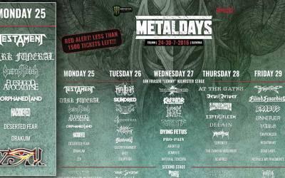 Con el Metal a Eslovenia: ZiX en Metal Days 2016
