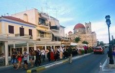 Juan Carrizo   Viajes - un desfile cultural en Aegina