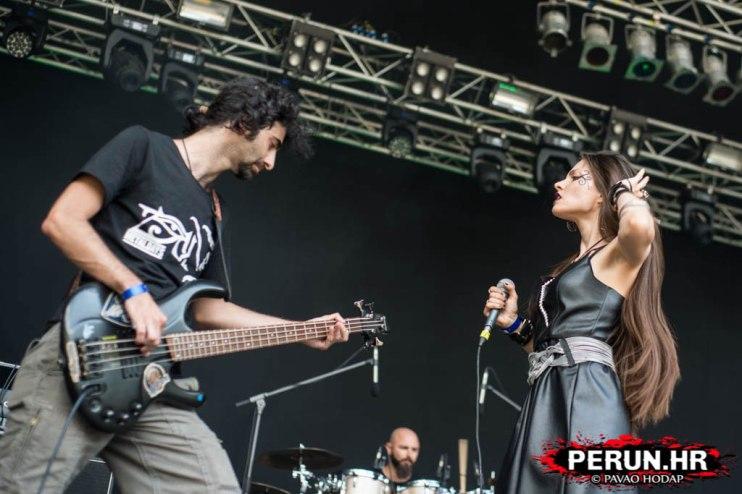 Juan Carrizo   ZiX @ Metal Days 2016 - Ziad y Jelena