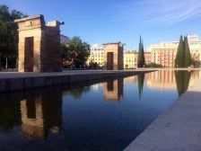Juan Carrizo [viajes] Madrid   Templo de Debod
