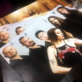 Anna Fiori - In Ohtli Tonalli poster firmado