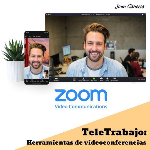 TeleWork: 5 herramientas gratis necesarias en el teletrabajo Zoom