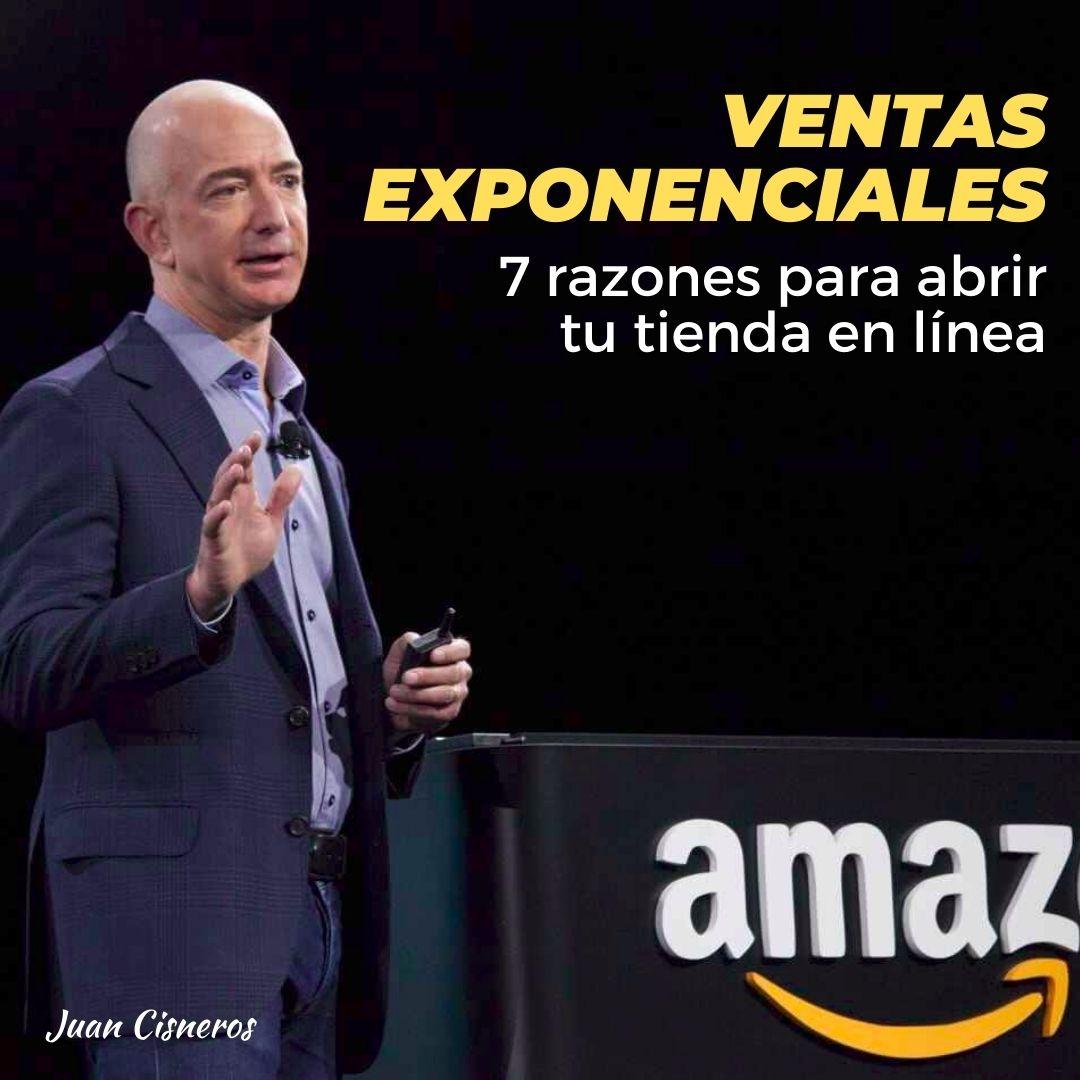 Tienda online para ventas exponenciales