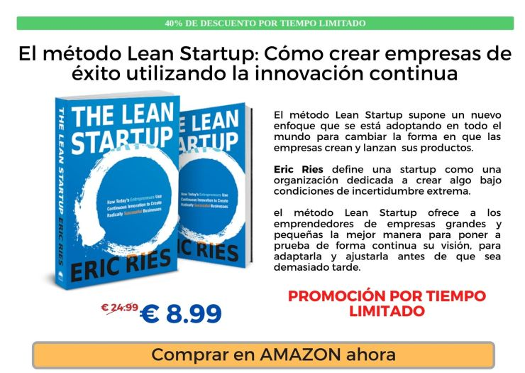 Libro Amazon The Lean Startup Eric Ries