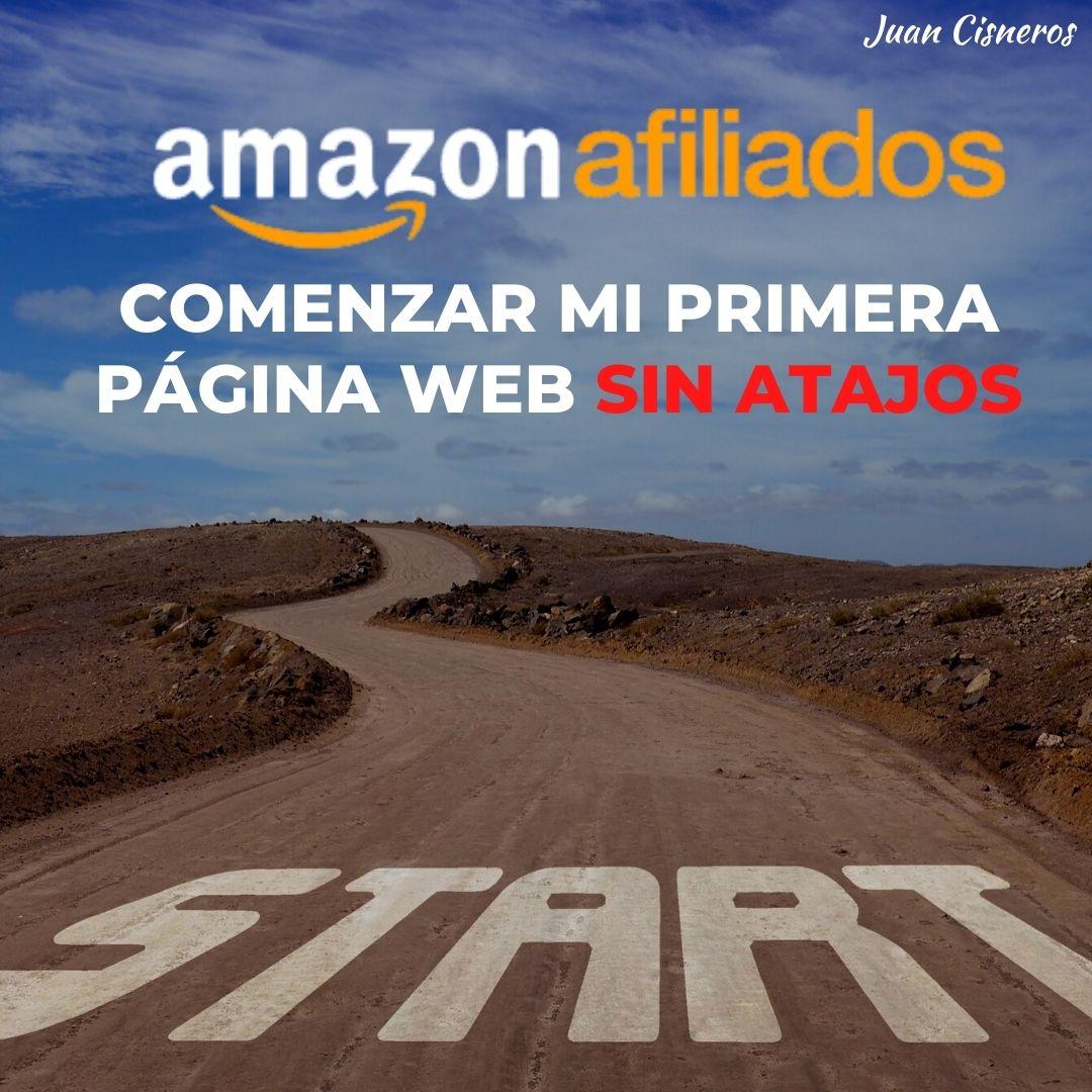 Amazon Afiliadps comenzar página web