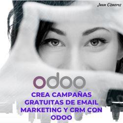 Crea campañas gratuitas de email marketing y CRM con Odoo
