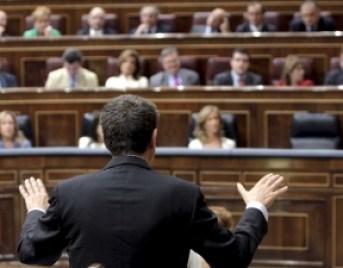 El Presidente Zapatero a punto de echarse a volar