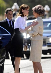 SPAIN-FRANCE-POLITICS-DIPLOMACY-ROYALS-KING-JUAN-CARLOS-SARKOZY-