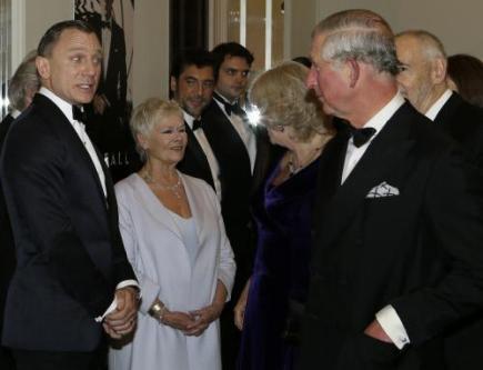 Bardem y el Principe de Gales