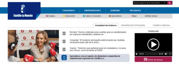 Captura web JCCM