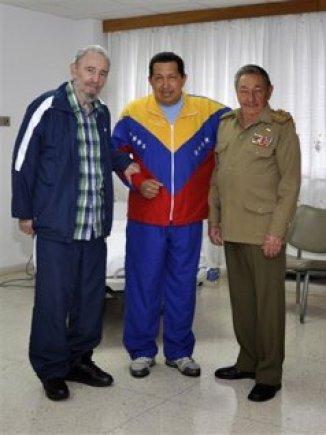 El Chandalismo escenificado por los presidentes Castro y Chávez